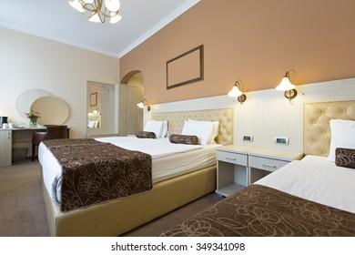 Interior Of A Hotel Master Bedroom