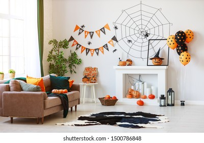 Halloween Indoor Decor Images Stock Photos Vectors Shutterstock