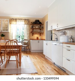 interior of a kitchen, vintage design