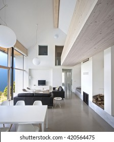 interior large luxury house large living space