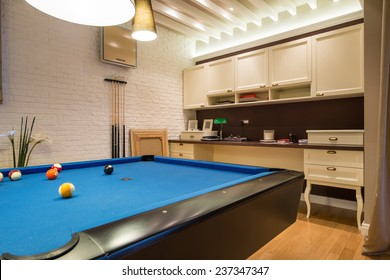 Billiard Room Images, Stock Photos & Vectors | Shutterstock