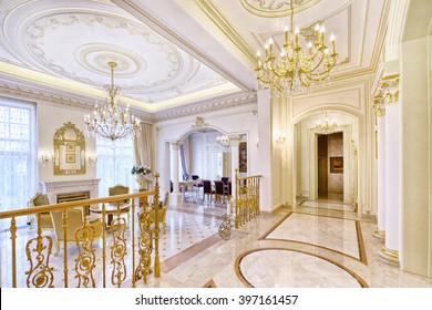 vestíbulo interior