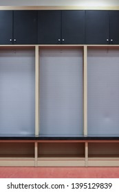 Interior of a locker/changing room  background.