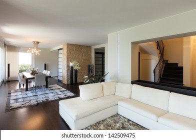 interior luxury apartment, beautiful living room