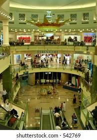 An Interior of a mall in Dubai