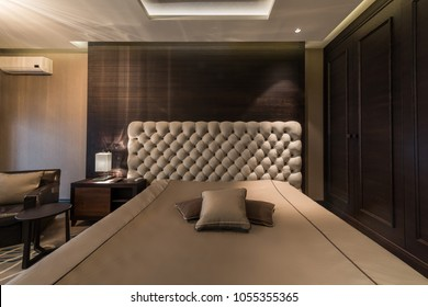 Interior of a master bedroom