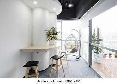 interior of moder office