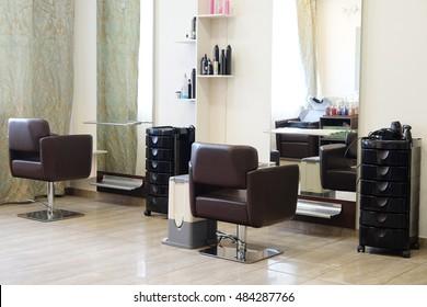 interior of a modern beauty salon