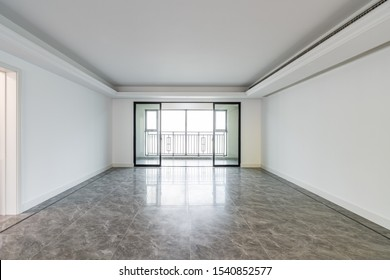 interior of a modern home empty room