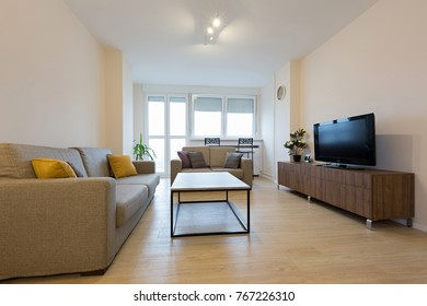 Interior of a modern living room