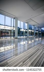 Interior of modern office Lobby.