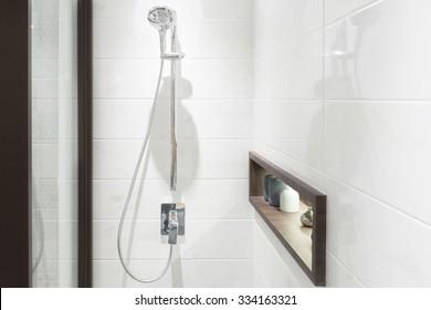 Bathroom Shower Images Stock Photos Vectors Shutterstock