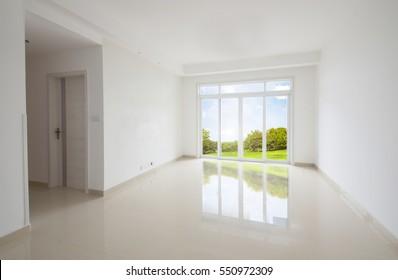 interior of new apartment