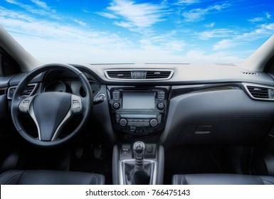 interior new car
