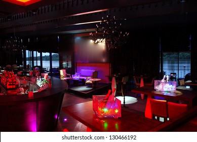 interior of a night club
