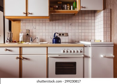 Old Kitchen Cabinet Images, Stock Photos & Vectors ...