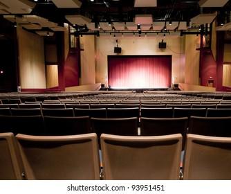 Interior of Performing Arts School