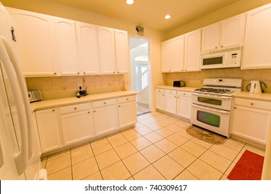An interior photo of a kitchen in a home