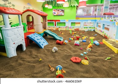Interior, playground indoors