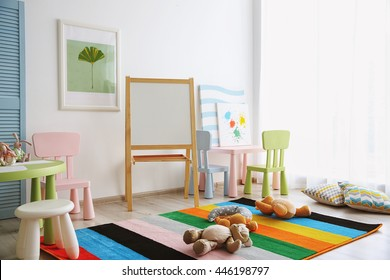 Interior of playing room