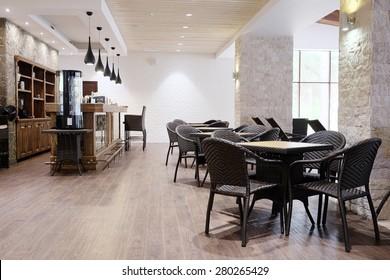 Inneres eines Restaurants
