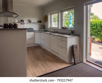 Interior from a Scandinavian home, kitchen