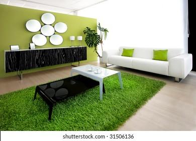 Green Carpet Home Images Stock Photos Vectors Shutterstock