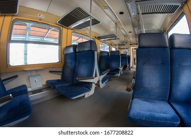 Interior of small reginal train