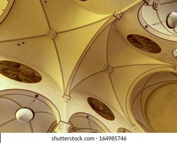 Interior of the St. Elizabeth of Hungary on Auroria Campus in Denver.