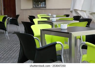 the interior street cafe