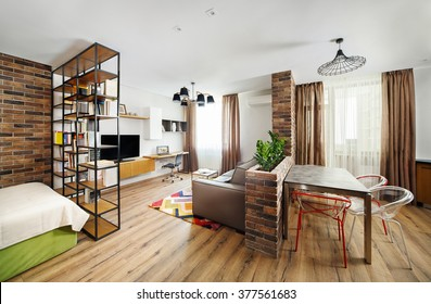 https://image.shutterstock.com/image-photo/interior-studio-apartments-bookshelves-hardwood-260nw-377561683.jpg