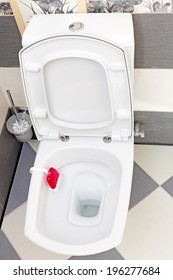 Interior of a typical water-closet