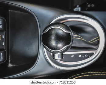 Interior of vehicle gear  / with copy space