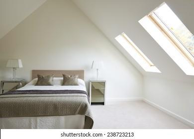 Interior View Of Beautiful Luxury Bedroom