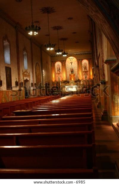 interior view of a church