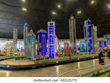 Interior View of Legoland at Dubai Parks and Resorts,Dubai, United Arab Emirates, Taken on December 1, 2016