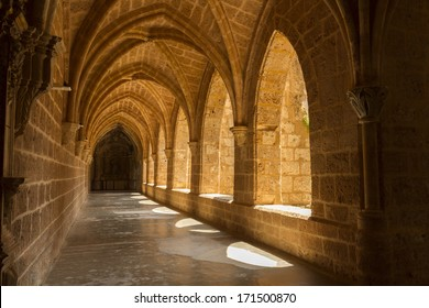 Interior view of the Monasterio de Piedra, Zaragoza