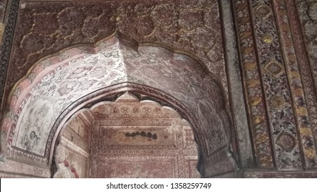 Interior view of the Narvadeshvar Temple situated at Sujanpur Tihra on the bank of river Beas at Distt Hamirpur Himachal Pradesh named after Raja Hamir Chand. This temple was part of Katoch Dynasty
