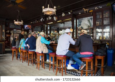 Interior of The White Horse Tavern, New York City. 13th May 2014