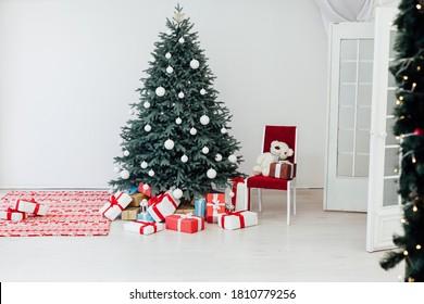 Christmas Decor Interior White Blue Images Stock Photos Vectors Shutterstock