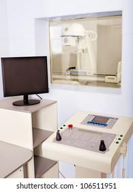Interior of X-ray room.