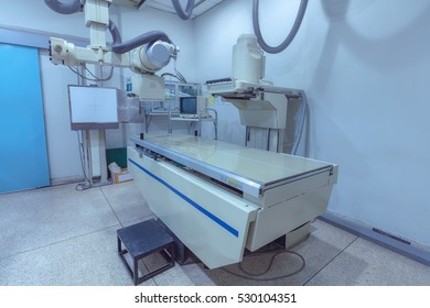 Interior of X-ray room