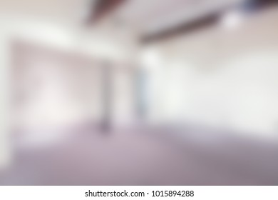Interiors architecture background with an intentional blur effect applied. Location unrecognizable.