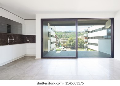 Interiors of modern apartment, nobody inside