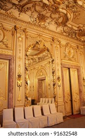 Interiors of the Polovtsov mansion - Architect's house, Saint Petersburg, Russia