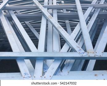 Interlaced Steels construction of a building