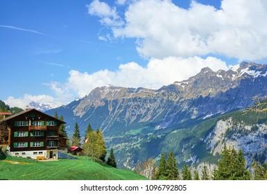 Interlaken Switzerland Harder Kulm