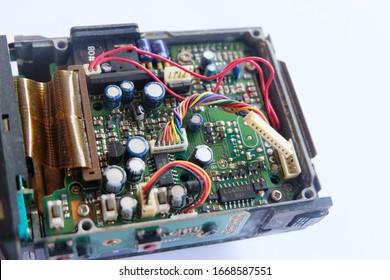 Internal circuit board of radio communication equipment. Mobile radio