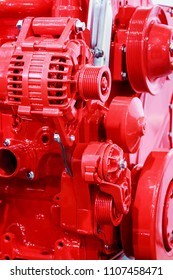 internal combustion engine parts for construction machinery. Modern technologies in mechanical engineering