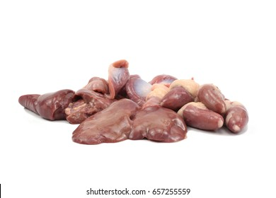 Chicken internal organs images stock photos vectors shutterstock internal organs of chicken on white background liver gizzards hearts ccuart Choice Image